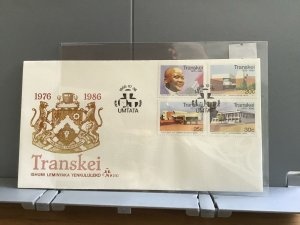 Transkei 1986 10th Anniversary of Transkei's Independence   stamps cover R29028