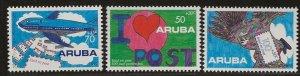 ARUBA  SC #  B29 - 31  MNH