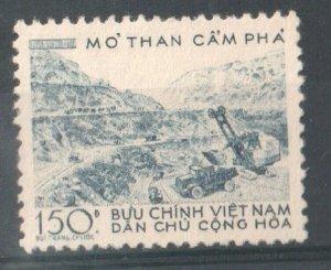 1959   NORTH VIET NAM -  SG: N102 - COAL MINES - UNMOUNTED MINT