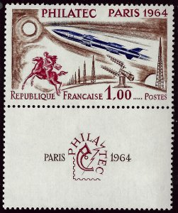 France #1100 MNH w/Selvage VF Value $27.50...Bid to Win!!