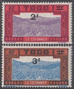 Togo J20-J21 MVLH CV $14.00