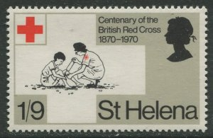 STAMP STATION PERTH St Helena #238 Cent, of British Red Cross 1970 MNH