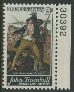 STAMP STATION PERTH USA #1361  MLH OG  1968  CV$0.25.
