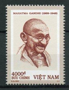 Vietnam Mahatma Gandhi Stamps 2019 MNH Famous People Historical Figures 1v Set