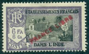 French India #130  Mint  Scott $4.75