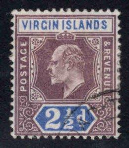 Virgin Islands  Scott 32 Used KEVII  stamp