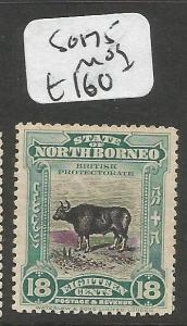 North Borneo SG 175 MOG (7clr)