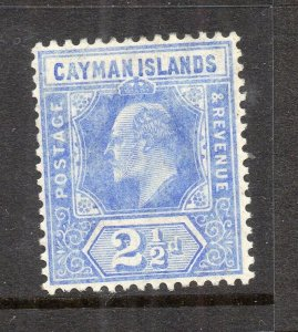 [SOLD] Cayman Islands 1905 Early Issue Fine Mint Hinged 2.5d. NW-14831