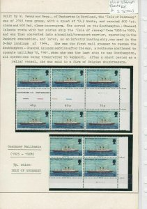 Guernsey MNH Stamps Blocks Ref: R6445