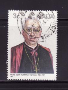 Malta 711 U Monsignor Sidor Formosa, Clergyman