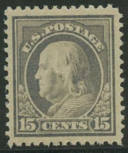 #418 15c 1912 XF-SUPERB OG LH GEM BU8917