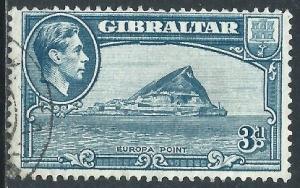 Gibraltar, Sc #111, 3d Used