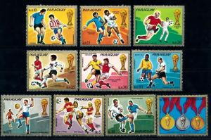 [60841] Paraguay 1973 World Cup Soccer Football Germany MNH