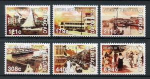 Curacao 2017 MNH Fifties Views 50s 1950s 6v Set Cultures Boats Cars Ships Stamps