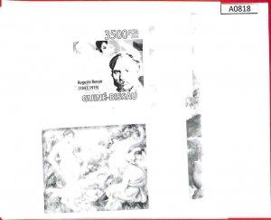 A0818 - GUINEA-BISSAU -  ERROR   IMPERF SHEET - ART Painters: RENOIR 2009
