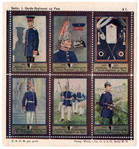 (I.B) Germany Cinderella : Army 25th Anniversary (1st Regiment of Foot Guards)