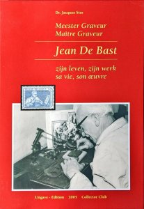 JEAN DE BAST Meester Graveur Belgium Stamp Design Engraving Production Belgie