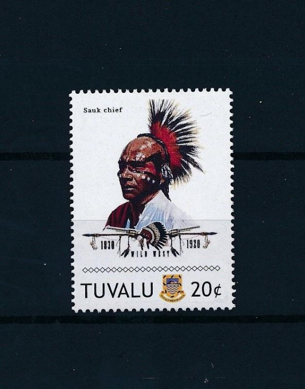 [80915] Tuvalu 2011 Native Americans Indians Sauk Chief MNH