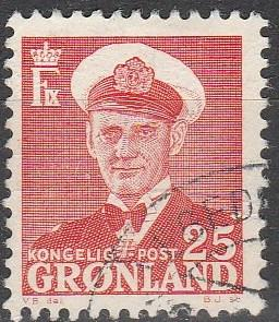 Greenland #32 F-VF Used (S1328)