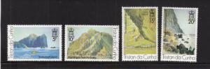 Tristan da Cunha MNH 268-71 Landscapes