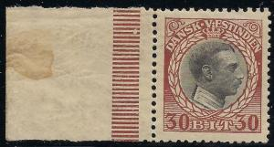 Danish  West Indies 56 Mint VF NH toned crackly gum