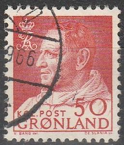 Greenland #59 F-VF Used    (S4486)