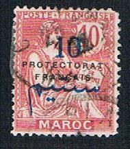 French Morocco 42 Used Surcharge (BP13617)