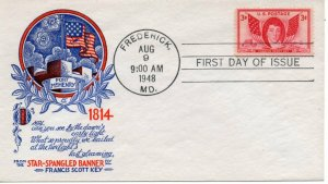 US FDC #962 Key, Staehle (2447)