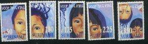 Surinam Scott 1112-16 Child Care, NH 1997
