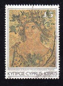Cyprus 1985 Scott 654 Very Fine Used CV $17