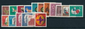 West Germany Bundespost 1967 Complete Year Set  MNH
