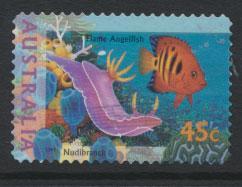 Australia SG 1564  Used  - self adhesive Marine Life