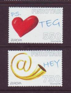 Faroe Islands Sc 502-3 2008 Europa stamp set mint NH