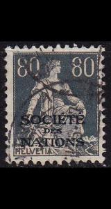 SCHWEIZ SWITZERLAND [SDN] MiNr 0011 x ( O/used )