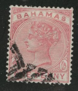 Bahamas Scott 27 Victoria Used 1884