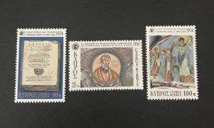 Cyprus 1974 #419-21 MNH CV .80