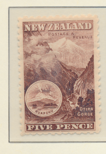 New Zealand Stamp Scott #114, Used - Free U.S. Shipping, Free Worldwide Shipp...