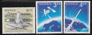 12487 Norway 988 - 990 mnh 2017 SCV $9.75