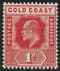 GOLD COAST 1907 KEVII 1D