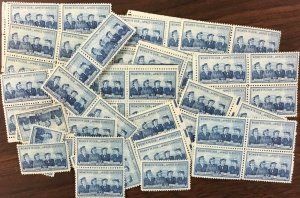 1013    Service Women  100 count  MNH 3 cent stamps  Issued  In 1952