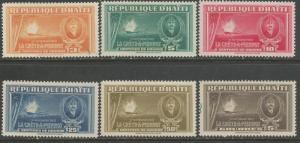 HAITI 349-54 MNH S479
