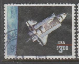 U.S. Scott #2544 Spaceship $3 Stamp - Used Single