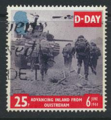 Great Britain SG 1828  Used  - D Day Anniversay