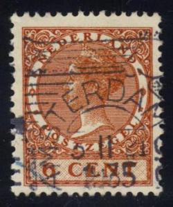 Netherlands #173 Queen Wilhelmina, used (0.20)