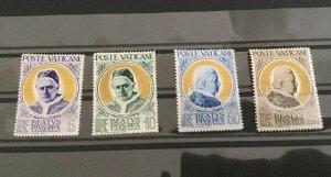 Vatican City Sc# 145-148 MNH (Mint Never Hinged) NH Complete Set, CV $30