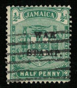 1916 Jamaica, overprinted: WAR STAMP., 1/2d (TS-320)