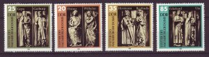 J24505 JLstamps 1983 germany DDR set mnh #2355-8 statues