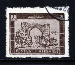 AFGHANISTAN 1963 The Balkh Gate Issue 3a. Brown SG 502 VFU