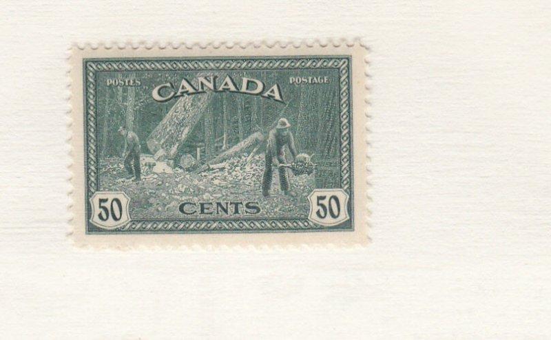 #272 F MH CV $20.00 Canada Mint