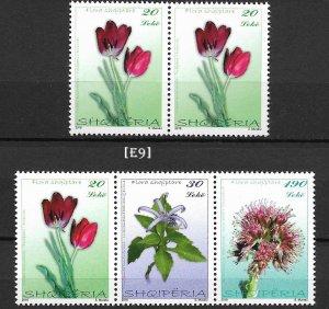 [E9] Albania 2016, Flora, GimNr.3679-3681, MNH